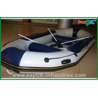 Wholesale Portable PVC Inflatable Boats With Paddle , Lightweight Inflatable Boat from china suppliers