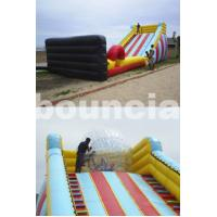 China 5m High Inflatable Zorb Ball Slope ,Inflatable Track For Zorbing Ball on sale