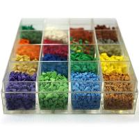 Wholesale Ultraviolet Resistant Colored Rubber Granules For Sandbox Environment Friendly from china suppliers