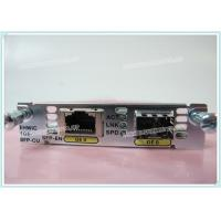 Wholesale EHWIC-1GE-SFP-CU High - Speed Cisco Optical Transceiver WAN Interface For Gigabit Ethernet from china suppliers