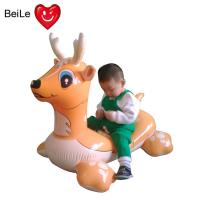 Wholesale PVC EN71 lovely inflatable rider on deer for swimming pool from china suppliers