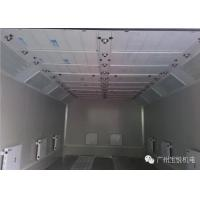 Quality Turbo Fan Water Based Spray Booth Coating Separate Control Temperature for sale