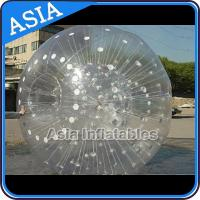 China Grass Used One Entrance Zorb Water Ball In 0.8mm Pvc For Rental Business on sale