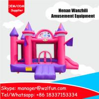 cheap indoor inflatable bouncer castle playground equipment-customized Minions bouncy house