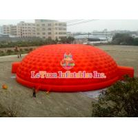 Wholesale Red Inflatable Dome Tent High Density Oxford Cloth For Events And Meeting from china suppliers