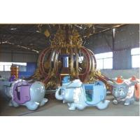 Wholesale Flying Elephant Thrilling Rides , Children Amusement Park Equipment from china suppliers