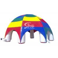 China Rainbow Inflatable Dome Structure For Outdoor Advertising N Ceremony on sale
