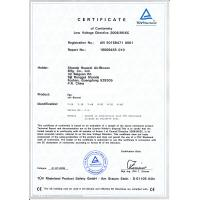 Funworld Inflatables Limited Certifications