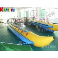 Wholesale 8 seats banana boat,Inflatable boat,water sport game,aqua sport game KBA010 from china suppliers