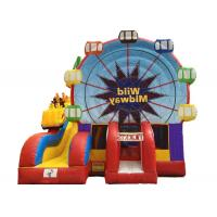 Wholesale Funny city chirldren commercial inflatable bouncer house combo from china suppliers