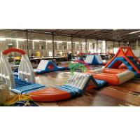 Wholesale Durable 0.9mm PVC Tarpaulin Inflatable Floating Water Park For Adult & Kids from china suppliers