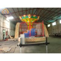 Wholesale 6P Capacity Portable Amusement Rides , Kids Carousel Ride ISO Approved from china suppliers