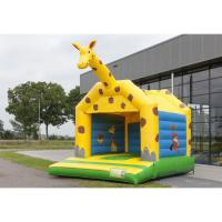 Wholesale Children Playing Inflatable Bounce House Giraffe Playground Theme Bouncer from china suppliers
