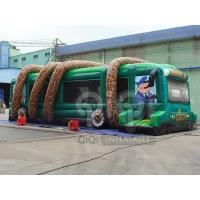 Wholesale Inflatable Jungle Bus Obstacle Game from china suppliers