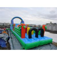 Buy cheap Children Inflatable Amusement Park Waterproof with 0.55mm PVC Tarpaulin from wholesalers
