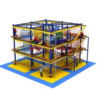 Wholesale teenager challenging game adventure play park wooden play equipment for indoor from china suppliers