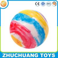 Wholesale 35cm large hollow colored plastic inflatable rainbow balls from china suppliers