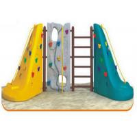 Wholesale 1-3 People Use Plastic Climbing Wall Corrosion Resistant OEM / ODM Available from china suppliers