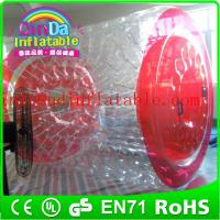 Wholesale QinDa commercial inflatable water roller,inflatable roller ball,water roller balls at low from china suppliers