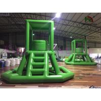 China Hot Sealed Large Inflatable Water Guard Tower Water PVC Tarpaulin Toy For Water Park on sale