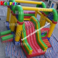 Wholesale Mix colourful combo,inflatable combo game,bouncer with slide obstacle KCB059 from china suppliers