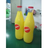 Wholesale pvc inflatable bottle for advertising/ inflatable pvc bottle for promotion from china suppliers