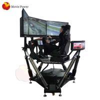 Amusement Equipment 9D Simulator 6 Dof Dynamic Platform For Shopping Mall
