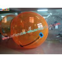 China Orange color 2M diameter Inflatable Water Walking Ball, Zorb Water Roller for Kids Playing on sale