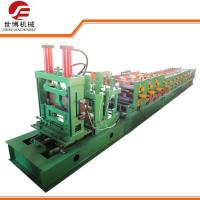 Wholesale Construction CZ Purlin Roll Forming Machine With Adjustable Cutting System from china suppliers