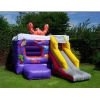 Buy cheap inflatable bouncer slide combo from wholesalers