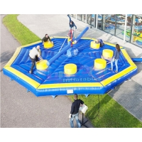 Wholesale OEM Inflatable Gladiator Game Interactive Sport Fighting Last Man Standing from china suppliers