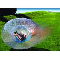 Amazing Outdoor Inflatable Toys , Giant Human Inflatable Zorb Ball EN71
