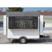 Convenient  Electric Mobile Concession Trailer High Visibility Tail Light Signal System