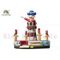 Wholesale Adventuring Pirate Inflatable Rock Climbing Wall PVC Tropic Taste Blow Up Sports Games from china suppliers