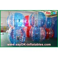 China Durable PVC TPU Inflatable Body Soccer Ball Inflatable Bumper Bubble Ball Suit on sale