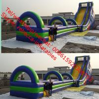 Wholesale  Gaint Cheap Inflatable Water Slides For Sale big kahuna inflatable water slide slip n from china suppliers