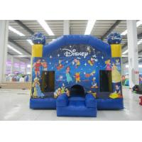 China Hot sale inflatable disney bouncy castle house commercial inflatable jumping house for kids under 15 years old on sale