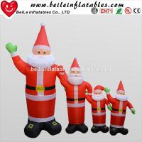 China Christmas gift decorations New advertising products inflatable Santa Claus inflatable model on sale
