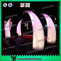 Wholesale 3M Romantic Wedding Event Entrance Inflatable White Lighting Inflatable Tusks from china suppliers