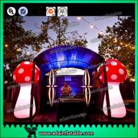 Wholesale Attractive 3m Inflatable Mushroom LED Lighting 190T Nylon For Engagement from china suppliers