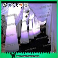 Wholesale 3M Wedding Events Party Decoration White Inflatable Cone Entrance Customized from china suppliers