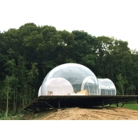 Wholesale Outdoor 5m bedroom Clear Inflatable Bubble hotel Tent With silent blower from china suppliers
