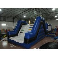 Newest inflatable cow themed obstacle courses interactive outdoor inflatable obstacle course for sale