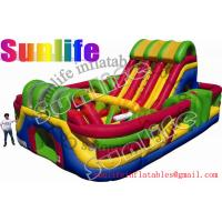 Wholesale hot sell inflatable jumper slide combo com056 from china suppliers