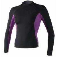 China Women's Long Sleeve Lycra Rash Guard UV 50 Compression Swimming Suit Top T-shirt on sale