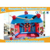"""Wholesale Promotional Inflatable Hockey Games Goal Post For Outdoor Amusement 15""""X12"""" from china suppliers"""
