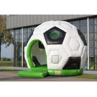 China Super Large Moonwalk Bounce House Soccer Ball Inflatable Jumping Bouncer on sale