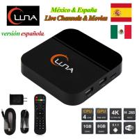 Wholesale IPTV Spanish Channels Luna TV Box With 18 Months Account For Latin America from china suppliers
