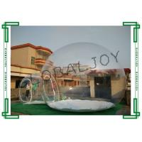 China Exhibition Inflatable Lawn Tent Bubble Popular Clear Dome Tent on sale