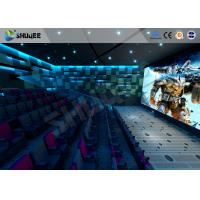 New Trend Future 4D Movie Theater Equipment Seamless Compatibility With Hollywood Movies